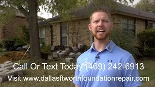 Foundation Repair Companies Dallas Fort Worth - Lewisville Example