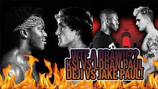 Baixar Logan Paul VS KSI SHould Have NOT Been A Draw! Deji Vs Jake Paul MY THOUGHTS