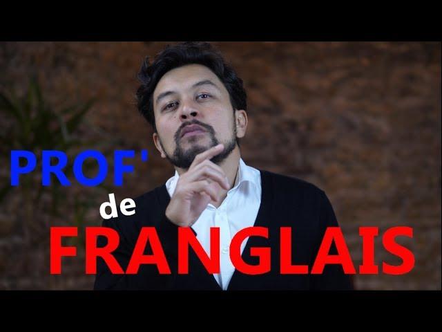 Professeur de Franglais - Karim Duval