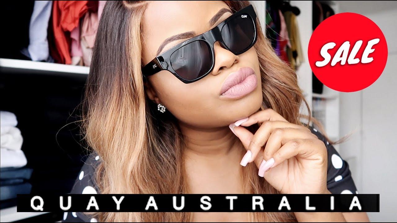 bfba0b5bece9d Quay Australia Sunglasses Huge Summer Sale Try On Haul
