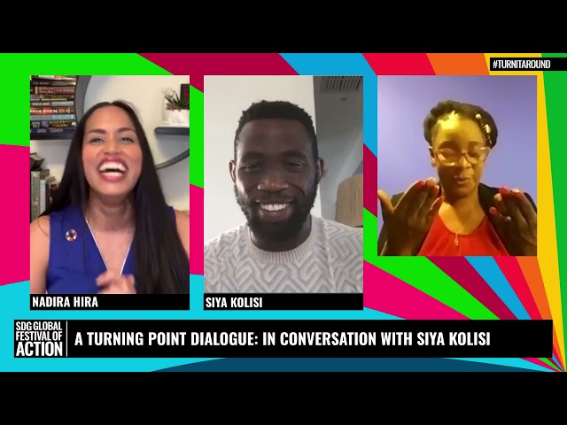 A Turning Point Dialogue: In Conversation with Siya Kolisi (French)