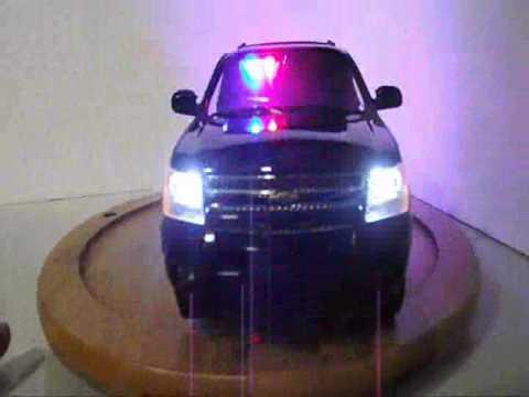 Black Tahoe police