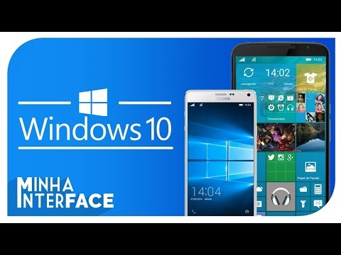 Como transformar seu Android em Windows 10 Mobile - Minha Interface