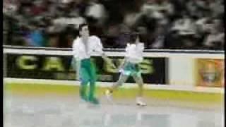 Ekaterina Gordeeva-Sergei Grinkov SP 1990 World Figure Skating Championships