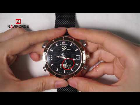 NAVIFORCE NF9153 How To Adjust The Different Modes Of Digital Watch?