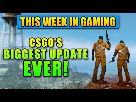 CSGO's BIGGEST Update EVER! - This Week in Gaming | FPS News thumbnail