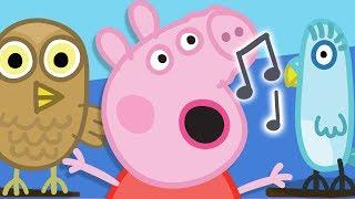 Peppa Pig Português Brasil - Canção do pássaro! Peppa Pig