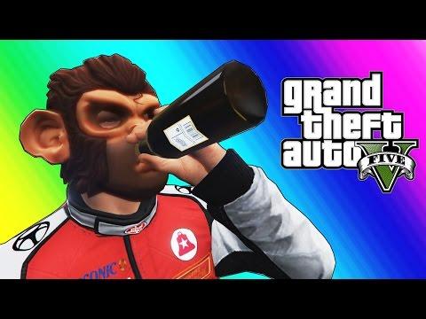 GTA 5 Online Funny Moments - Basketball, Social Experiment, & Pranks!