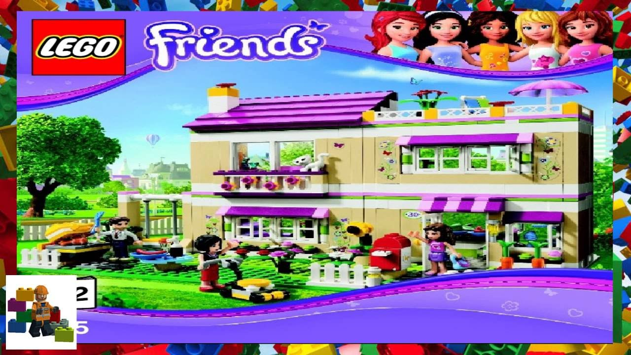 Lego Instructions Lego Friends 3315 Olivias House Book 2