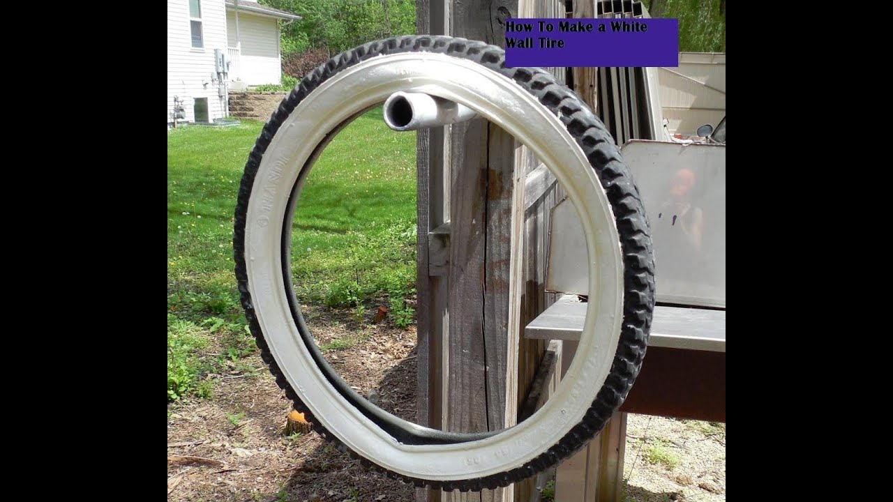 How To Make A Whitewall Tire
