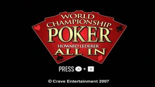 World Championship Poker All In Wii Gameplay