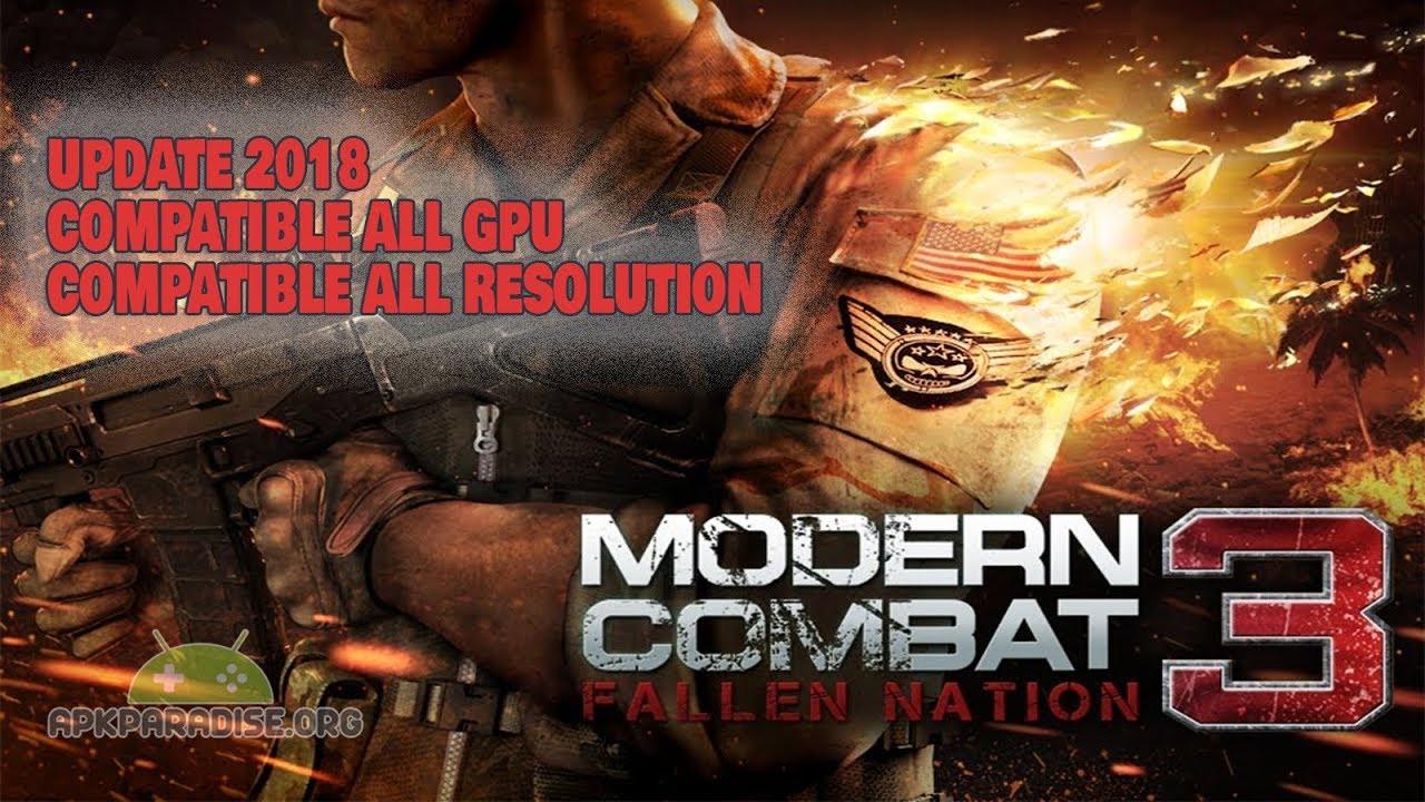 modern combat 1 apk paradise