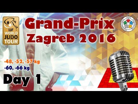 Judo Grand-Prix Zagreb 2016: Day 1