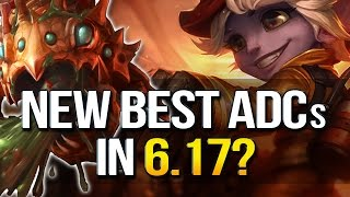 NEW BEST ADCs IN 6.17? Tier list with all changes (League of Legends)