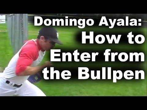 Bullpen Entrances With Domingo Ayala Mlbcom