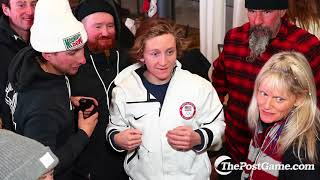 Red Gerard Says His Family Was Not Very Sober For The Olympics