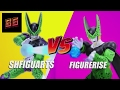 S.H. FIGUARTS PREMIUM COLOR EDITION PERFECT CELL  comparison review with FIGURE RISE  PERFECT CELL
