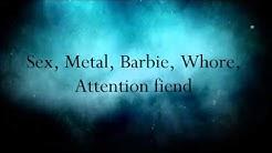 In This Moment - Sex Metal Barbie (Lyrics)