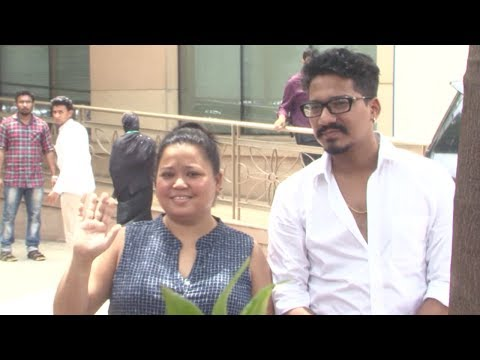 Bharti Singh Snapped Leaving Hospital Post Surgery