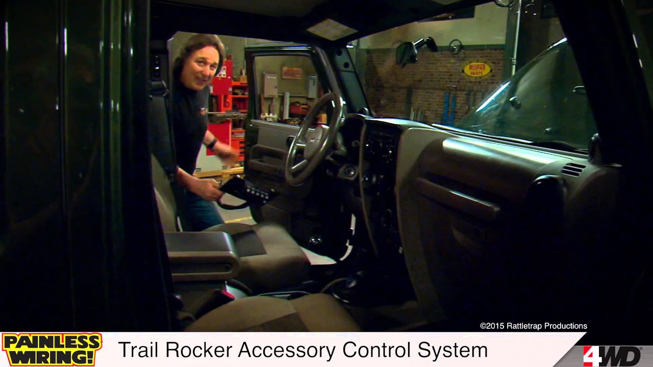 Painless Wiring Trail Rocker Accessory Control System Youtube Installation