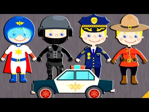 police car for kids police car entertainment for children