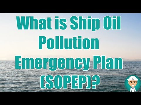 What Is Shipboard Oil Pollution Emergency Plan (SOPEP) ?