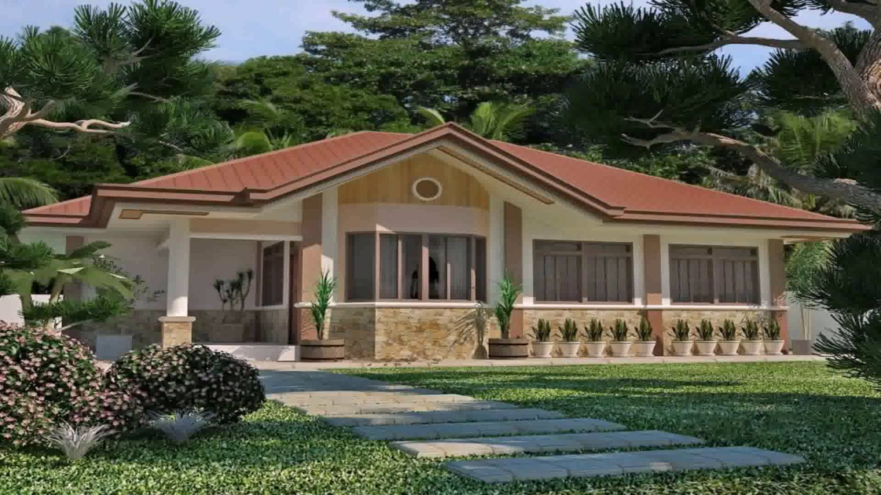 Bungalow house style in philippines youtube for Styles of homes with pictures