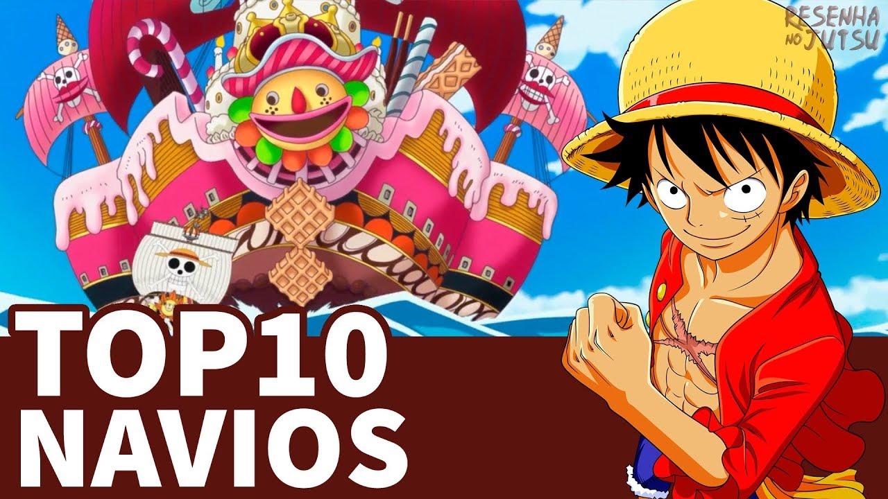 TOP10 NAVIOS   ONE PIECE
