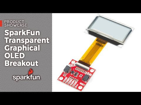 Product Showcase: SparkFun Transparent Graphical OLED