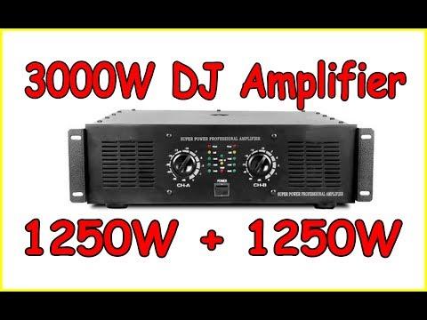 3000w power Amplifier.(Studiomaker)