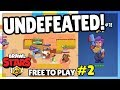 UNDEFEATED! Let's Play Brawl Stars - FREE to Play Episode 2!