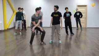 Танцуй № 98! Урок по брейк-дансу!