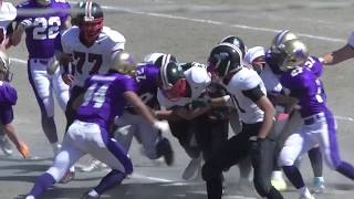 神奈川高校アメリカンフットボール春季大会 2018 ~舞岡 vs 岸根~