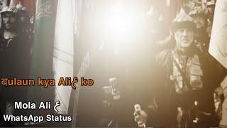 Aye deen ke Gaddar bulau kya ali ko WhatsApp Status | Mola Ali WhatsApp Status | 13 Rajab | Status