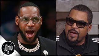 Ice Cube tells Lakers to hire Ty Lue, Clippers to move & reveals new 'Friday' movie info | The Jump