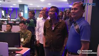 Command Conference on Typhoon 'Ompong' 9/13/2018