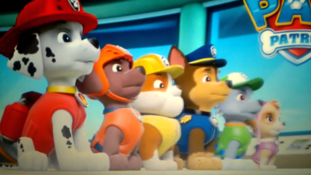 PAW patrol the movie (2018) July 13 on movies theaters trailer