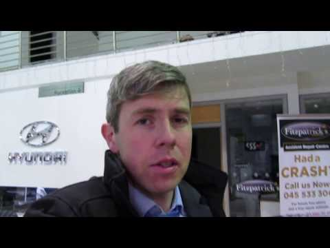 2017 Hyundai i40 Executive CRDi Brian Doolan at Fitzpatrick s Garage Kildare