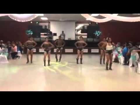53d4d40306 Country line dance routine For JAILENES XV quinceanera - YouTube