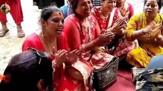 बाचुन्जेल संगै मरे मात्रै छुटिने हो गाए घरमाथिको देबिलाइ भाकौला live dohori 2076-3-3