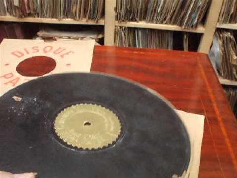 """Very Rare records Described  No 1 """"1905 Pathe Disque """" The first Pathe Disc Records"""