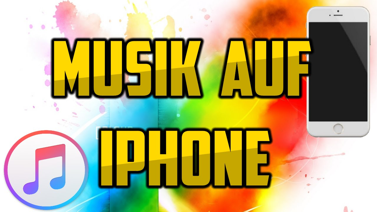 musik auf iphone laden über pc