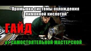  *Самостоятельная Мастерская*  ГАЙД - Промывка системы охлаждения лимонной кислотой!
