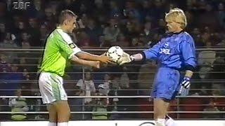 Kahn gegen VfL Wolfsburg   DFB Pokal 1997