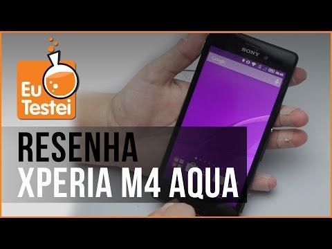 Sony Xperia M4 Aqua Dual E2363 Smartphone - Vídeo Resenha EuTestei Brasil
