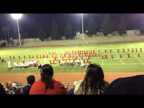 Barstow High School Marching Band 2015 Semifinals