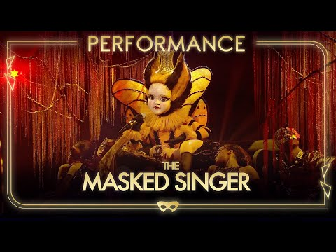 Queen Bee Performs 'Greatest Love Of All' By Whitney Houston  | Season 1 Ep.7 | The Masked Singer UK