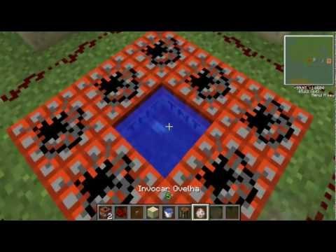 Como Fazer Um Canhão Lançador De Mobs - Minecraft