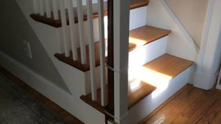 Banister Installation With No Drilling (retract-a-gate)