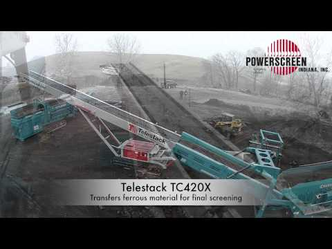 Powerscreen Indiana Foundry Reclamation